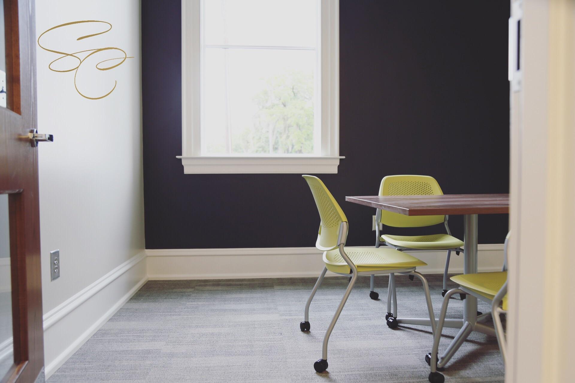 Private study area