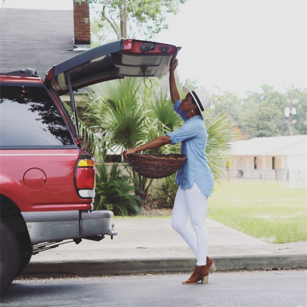 Throw away trash in your car including the trunk and take out anything that just does not belong there.