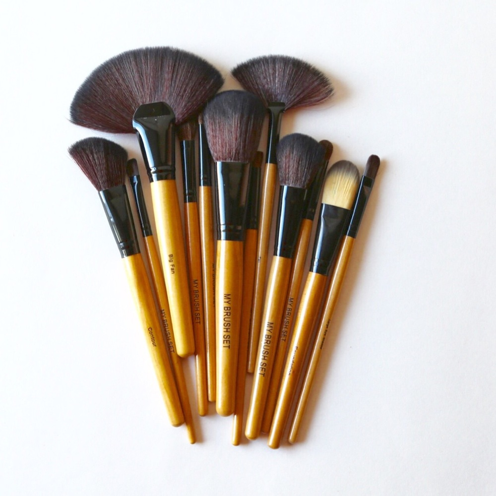 Wipe down your make-up drawer, toss old products, and cleanse brushes.