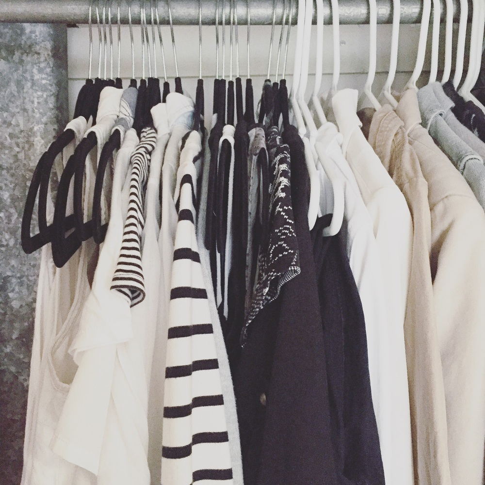 Pull items from your closet that get little wear and donate them.