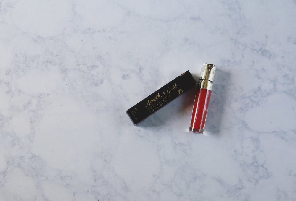 Smith & Cult Lip Lacquer in The Warning | $22