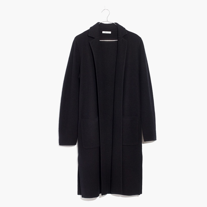 Camden Sweater Coat, $178