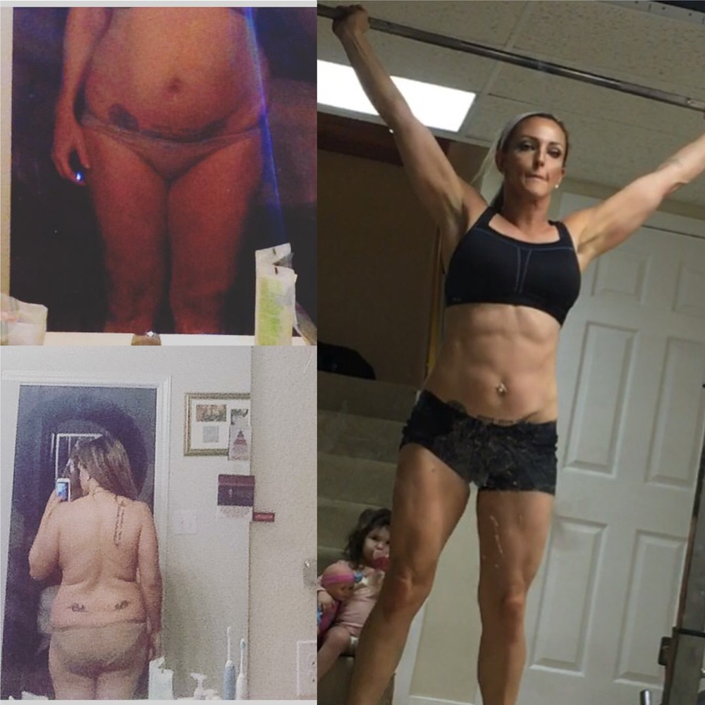 Coach Mariah lost over 75 lbs in 6 months as a single mom of two under 2