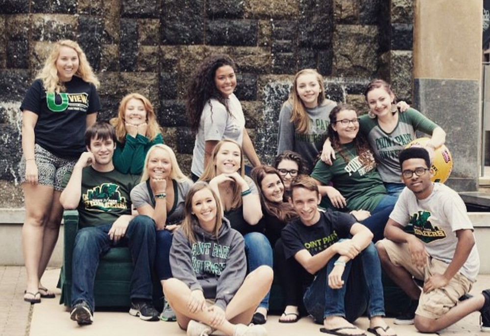 A group picture of the 2015 orientation leaders