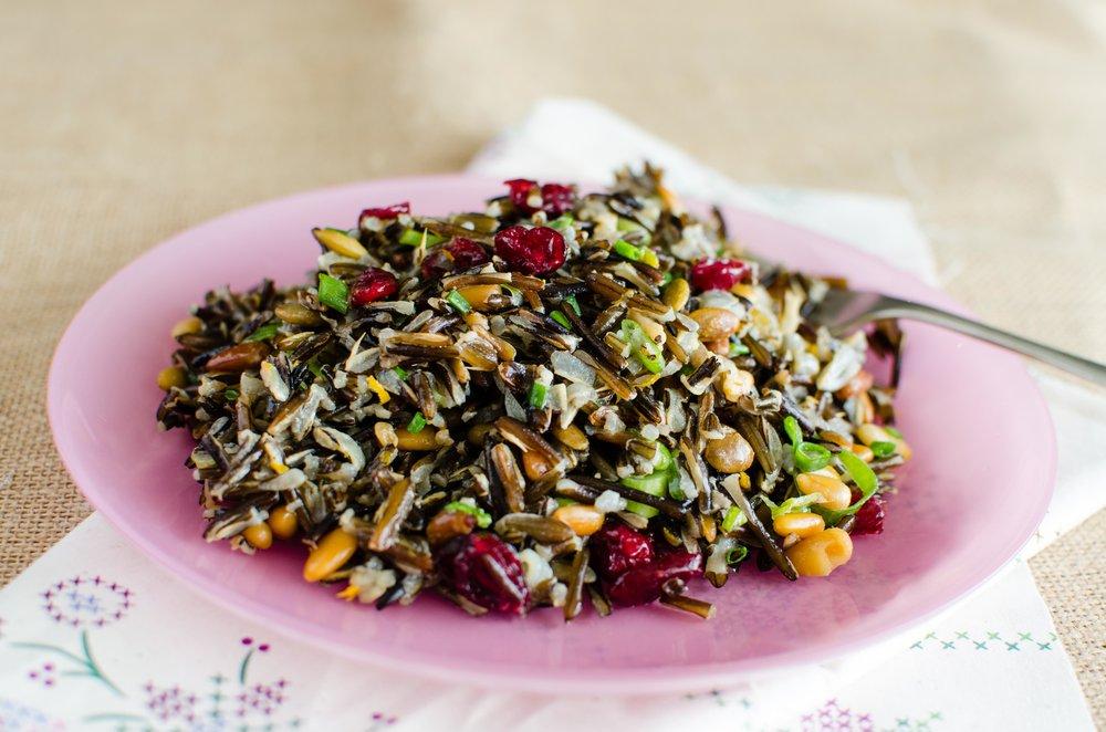 Classic Wild Rice Salad
