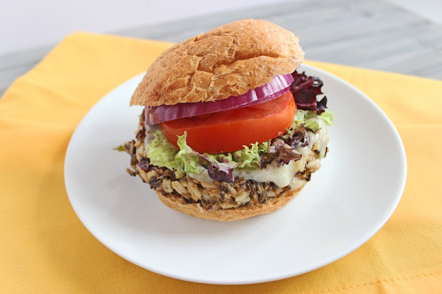 Smokey Wild Rice Hamburger