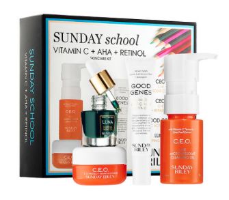 Sunday Riley |Sunday School Skincare Set