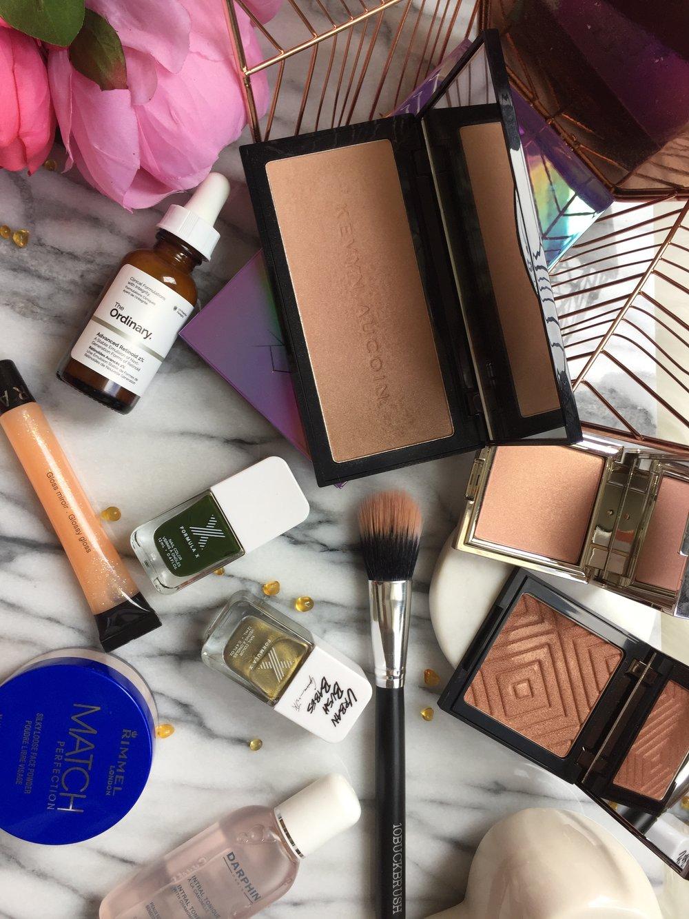 Makeup Geek, Rimmel, Kevyn Aucoin, The Ordinary, Formula X and Sephora | April Favourites