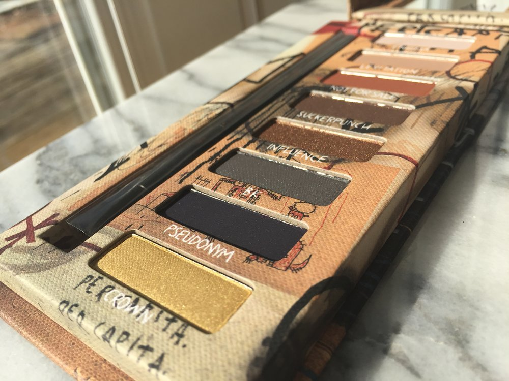 Urban Decay Basquiat Gold Griot Palette