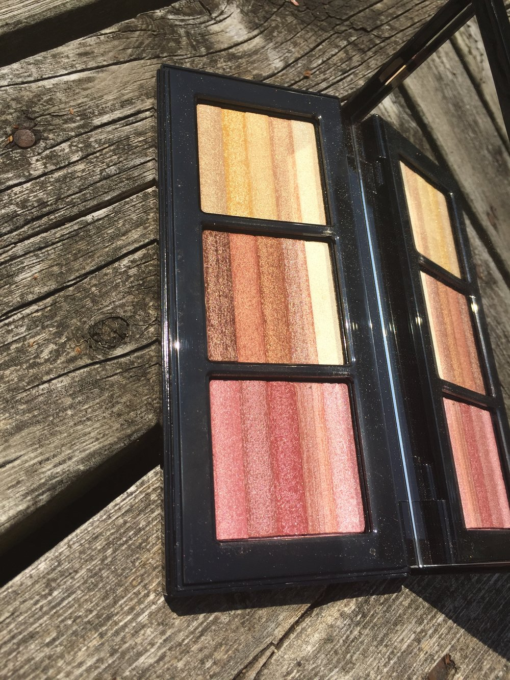 bobbi brown |bobbi to glow shimmer brick palette