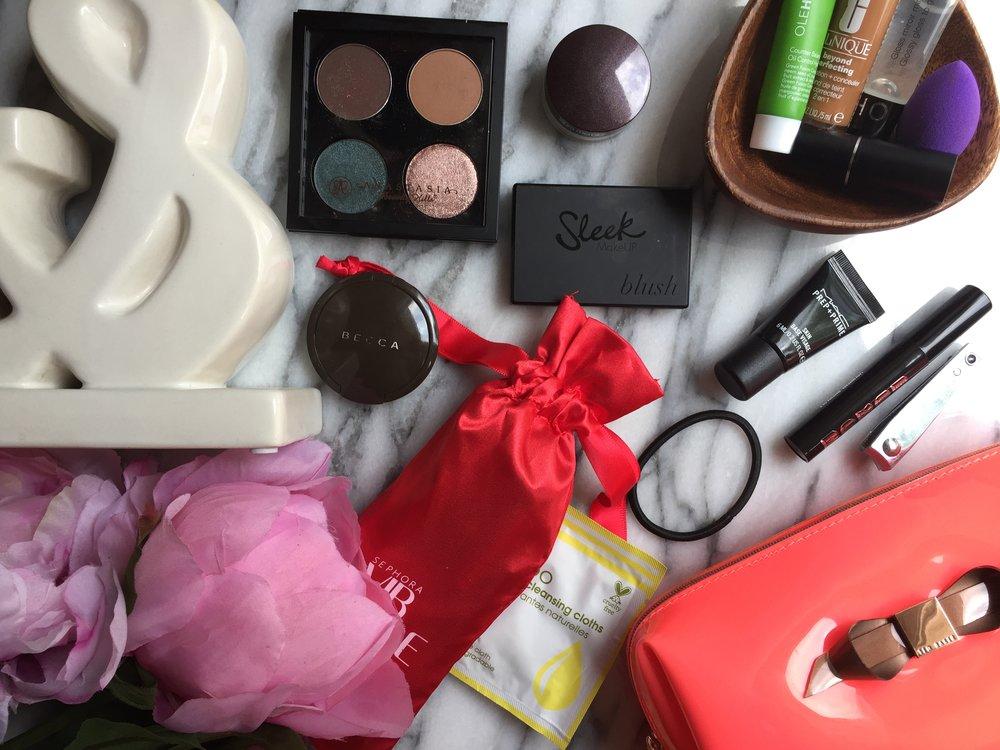 on the go makeup bag