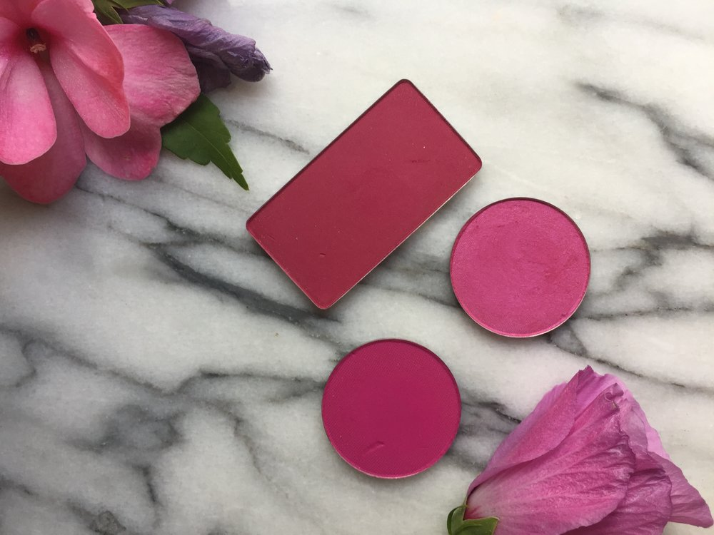 Berry Blushes | Inglot #63 AMC, La Femme Magenta and Rose Chiffon