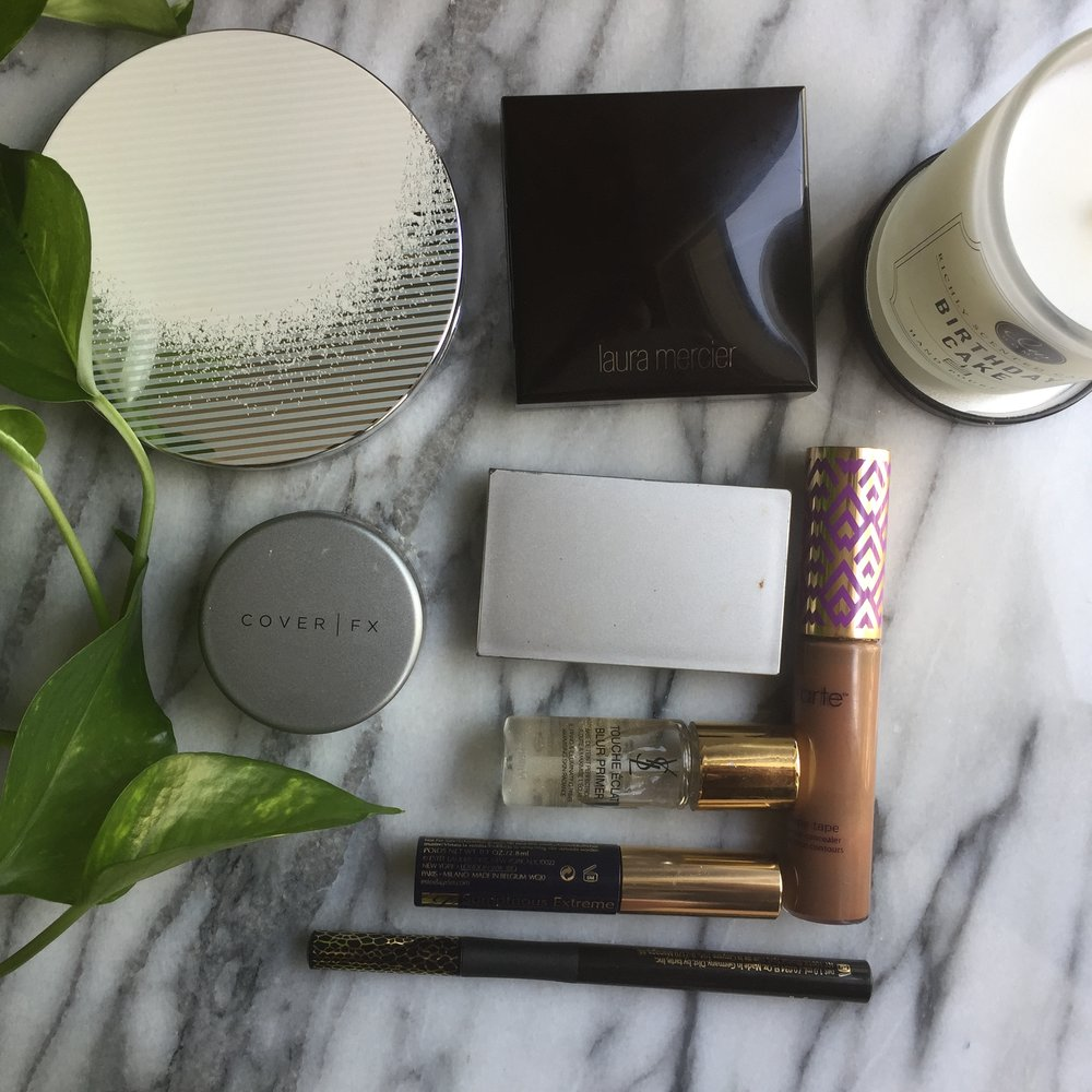 my simplified summer makeup routine