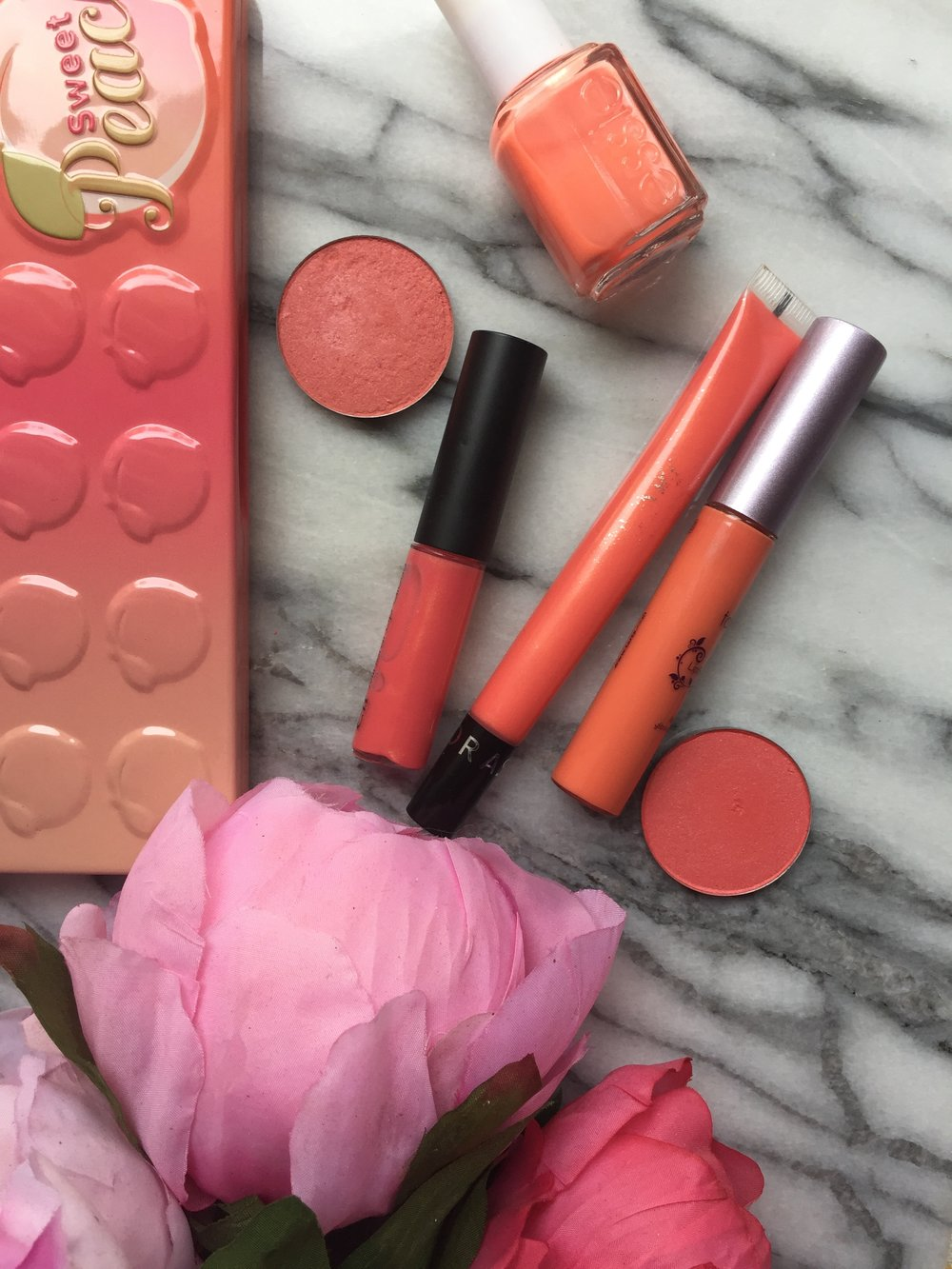Peach Coral Faves