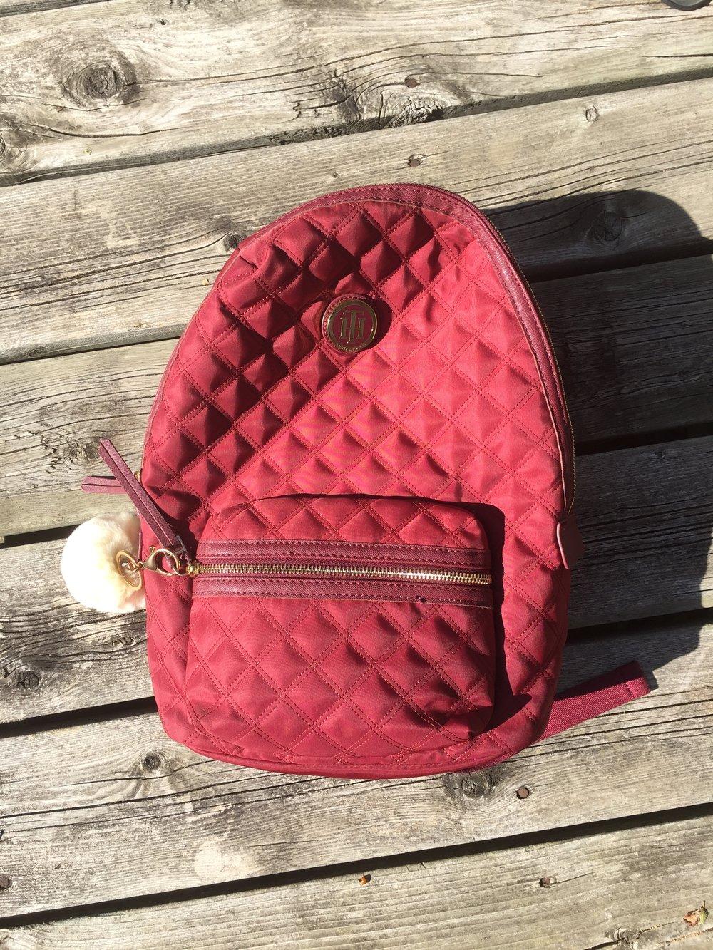 Burgundy Bag Pack