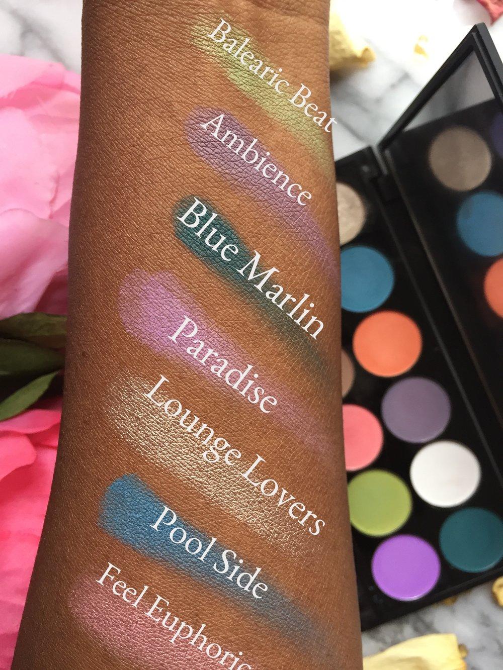 Sleek Del Mar Eyeshadow Palette