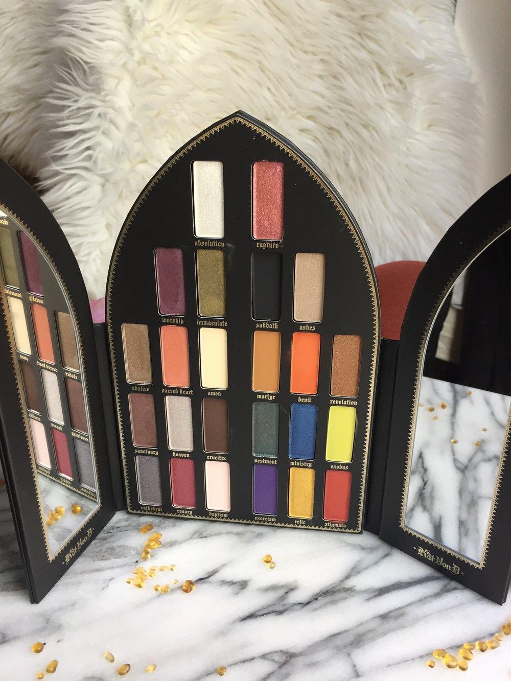 Kat Von D Saint and Sinner Eyeshadow Palette