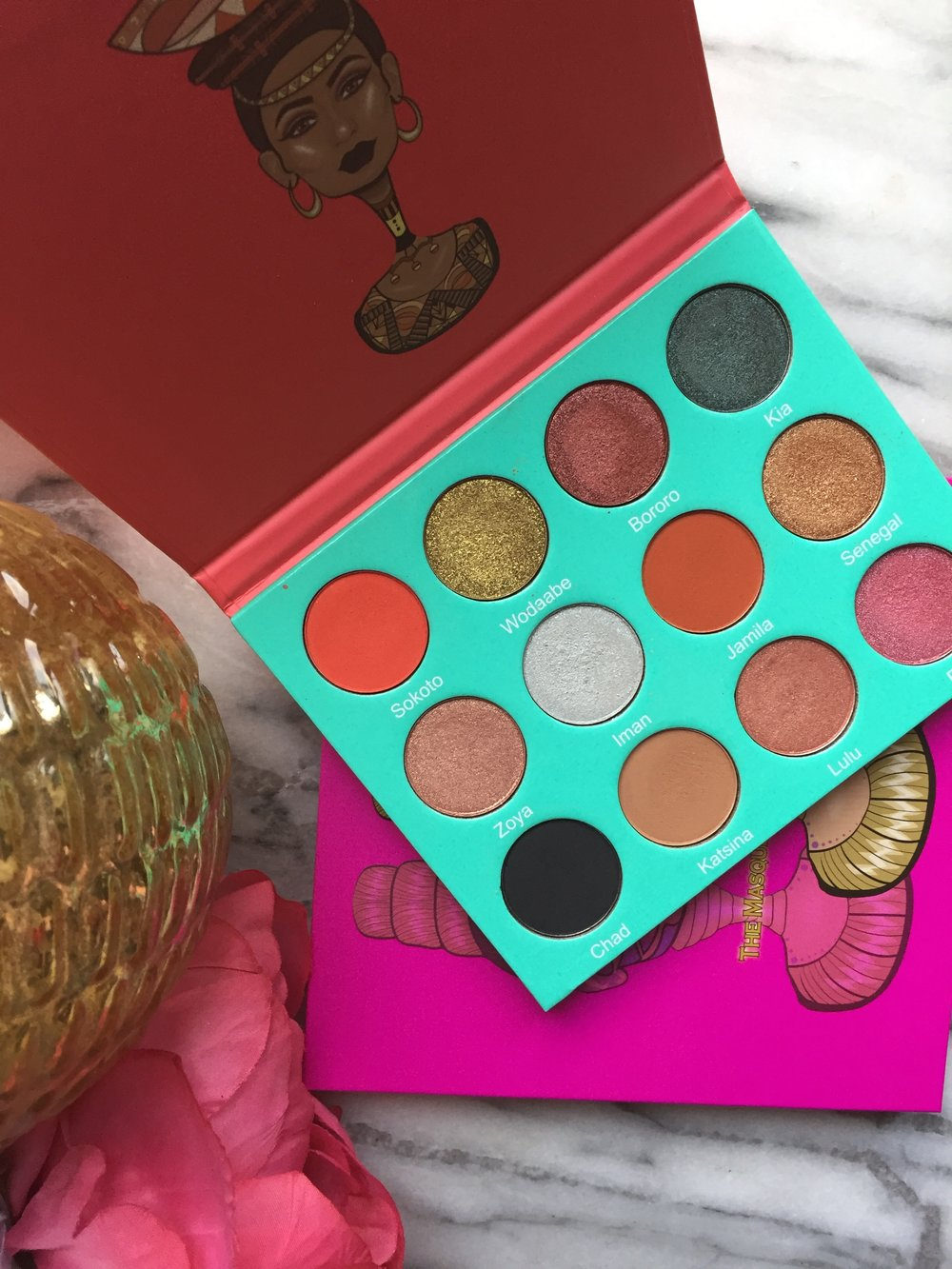 Juvia's Place The Saharan and Masquerade Palette