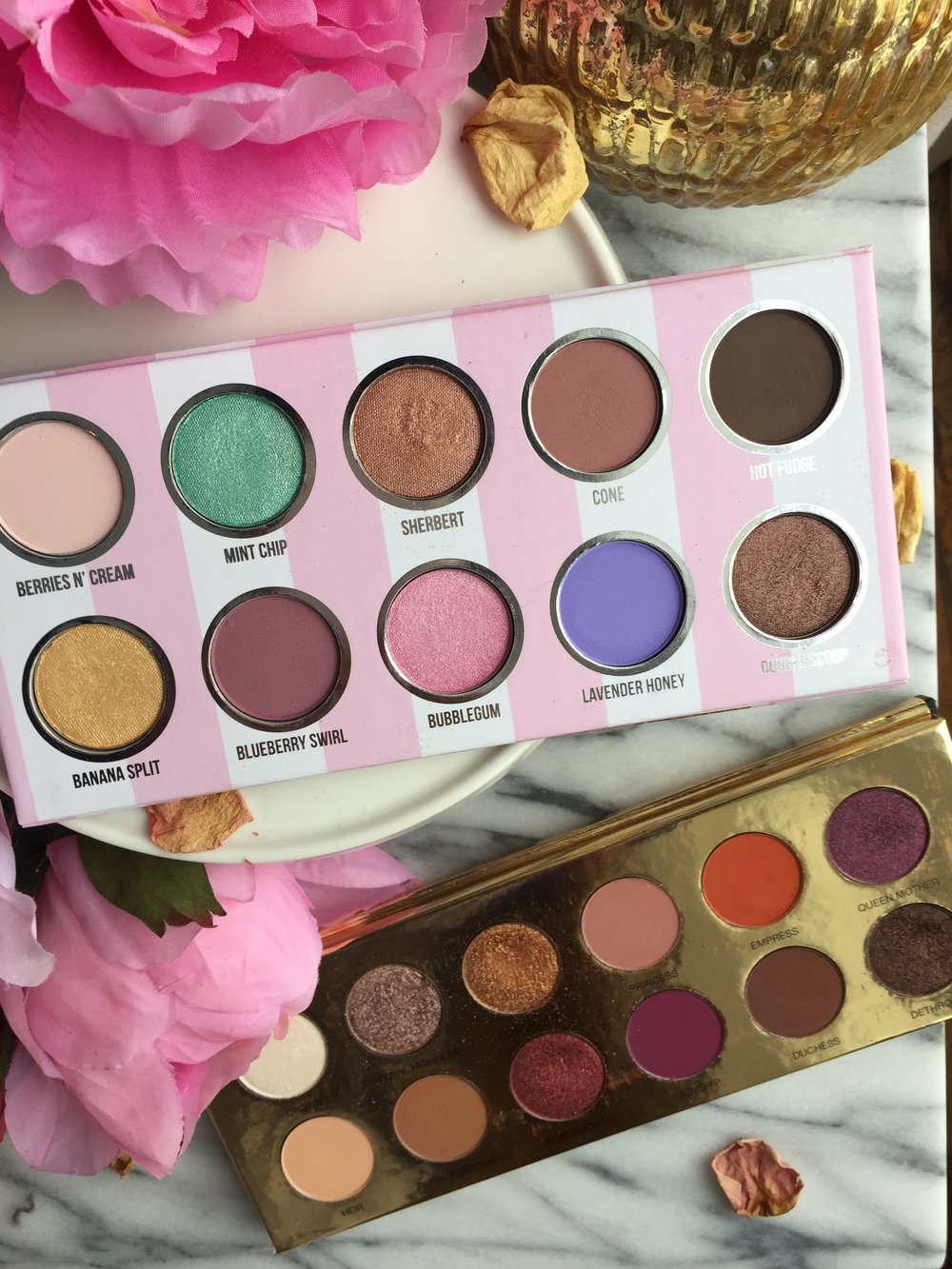 Eyescream and Queen of Hearts Palettes