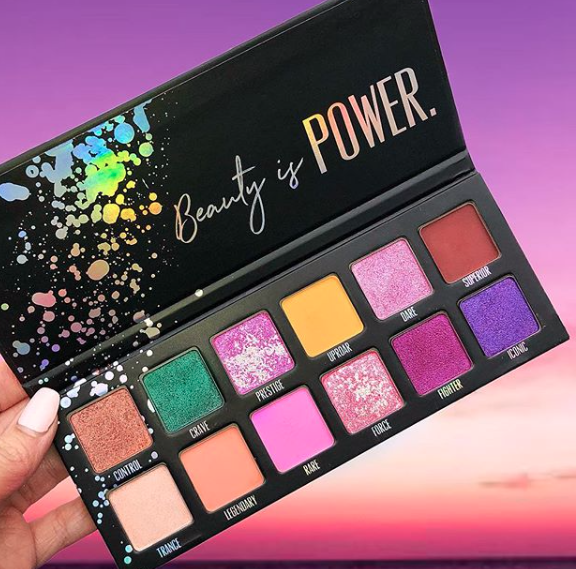 Pretty Powerful Palette | photo courtesy of love luxe beauty instagram