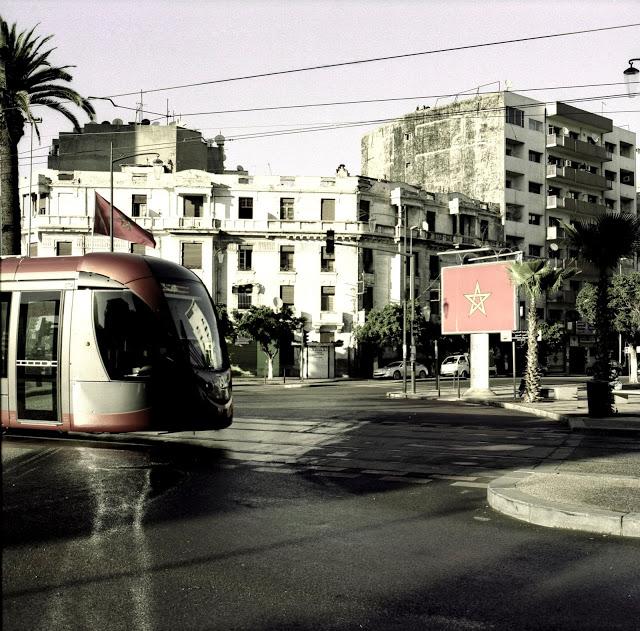 Tram Fuji GF670 | Kodak Portra 160