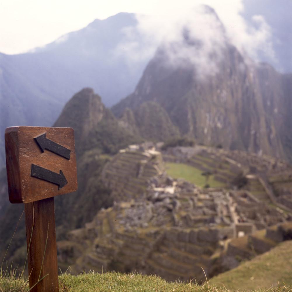 Yashica 124--Fuji Provia--Machu Picchu, Peru
