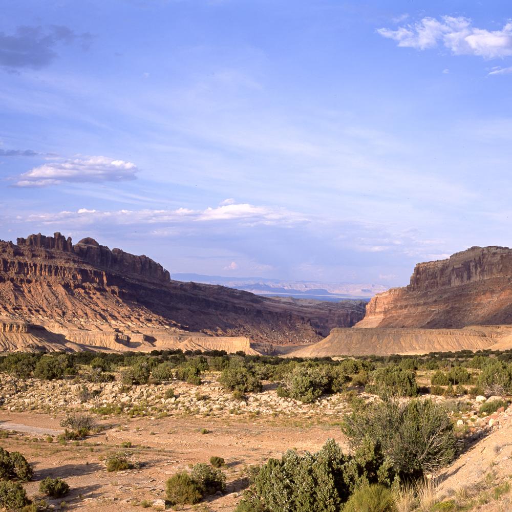 A rest stop in Utah