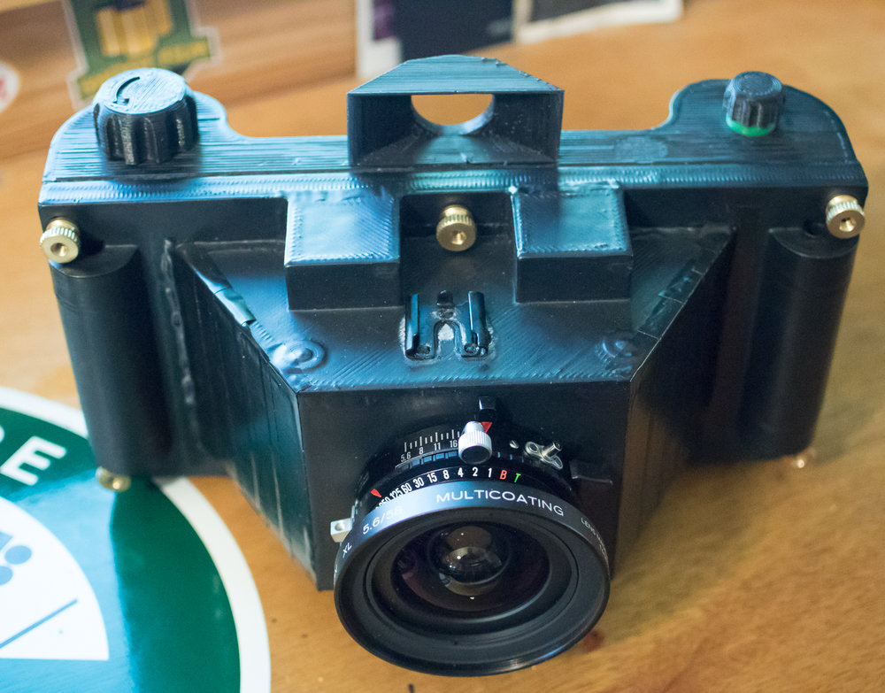 3d printed 6x14 camera by John Kossik