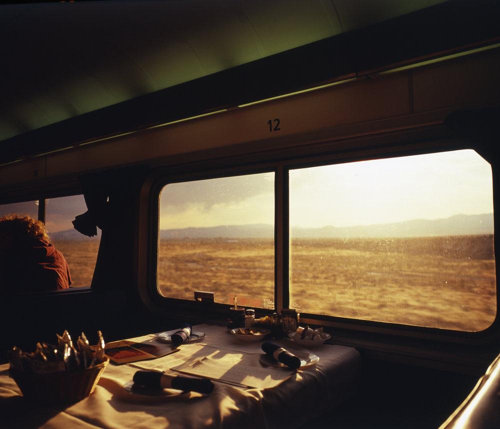 Fuji GF670w + Fuji Provia 100f  |  Amtrak Trip