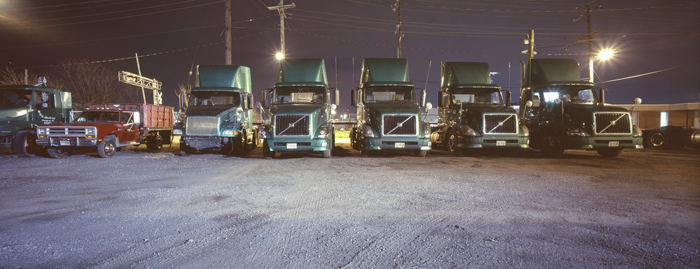 The trucks are in order