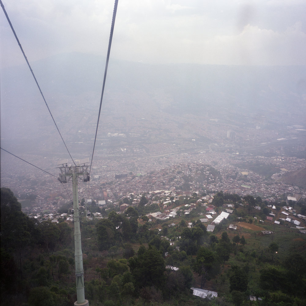 Medellin from the Metro Cable