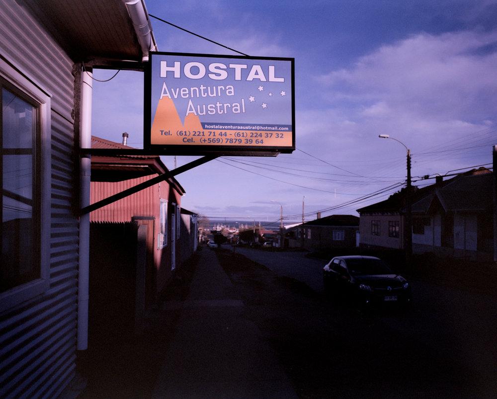 Hostel Aventura Austral Fuji GF670w - Kodak Prn 100