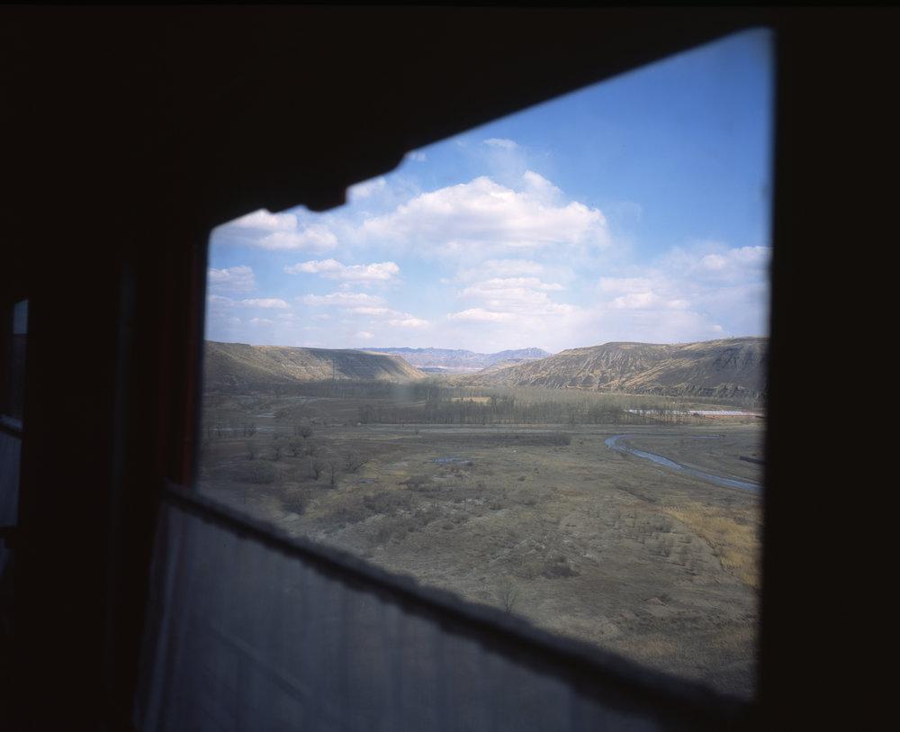 Out the window Fuji GF670w | Fuji Provia 100f