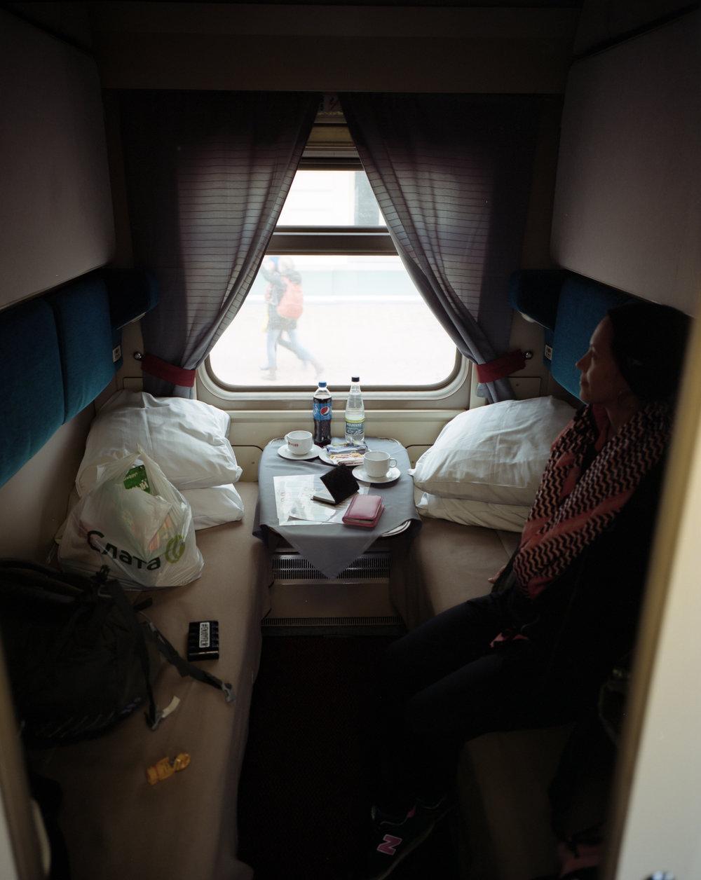 Our room Fuji GF670w | Kodak Portra 400