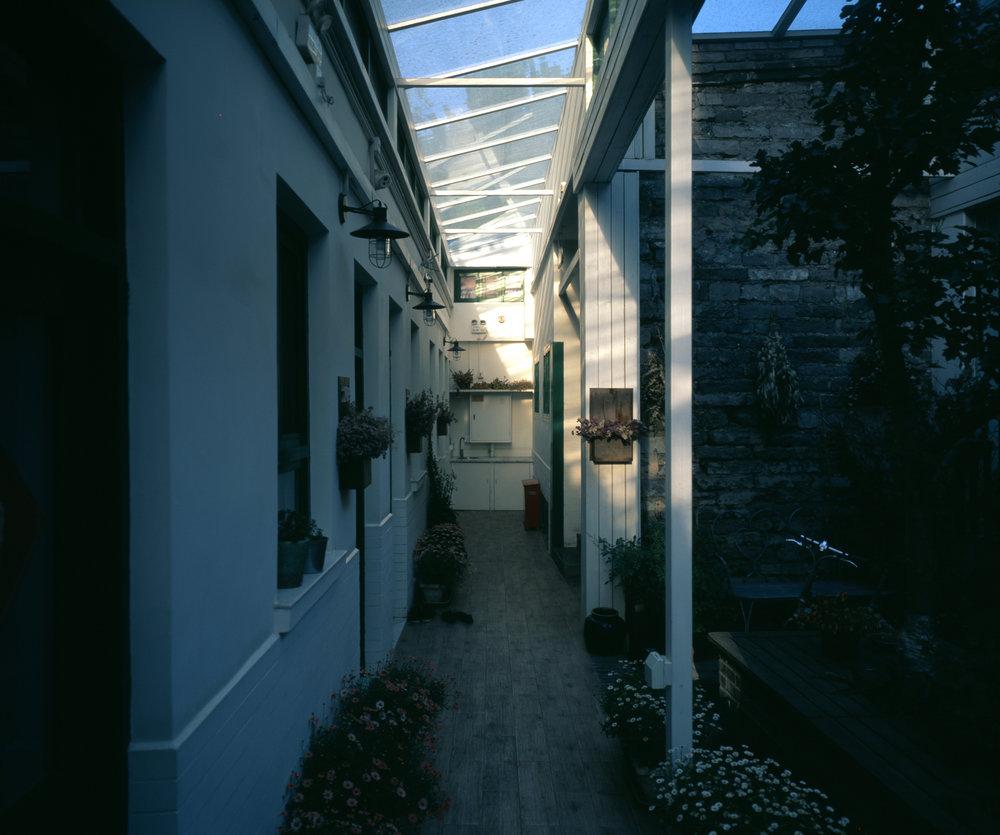 Peking Station Hostel Fuji GF670w | Fuji Velvia 50