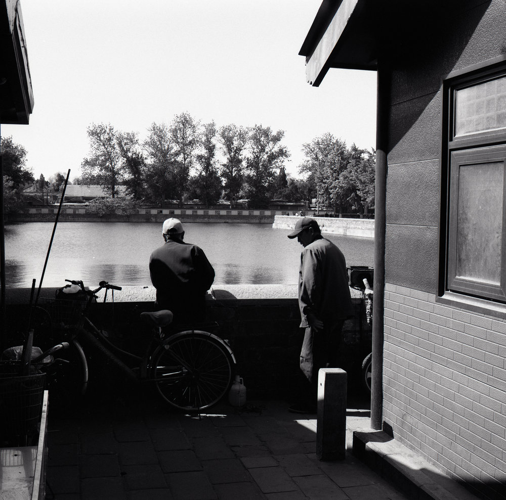 Fisherman Fuji GF670 | Ilford HP5
