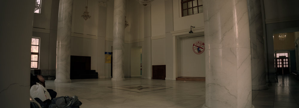 Inside the station P6x14 | Super Angulon 58mm | Fuji Provia 100f