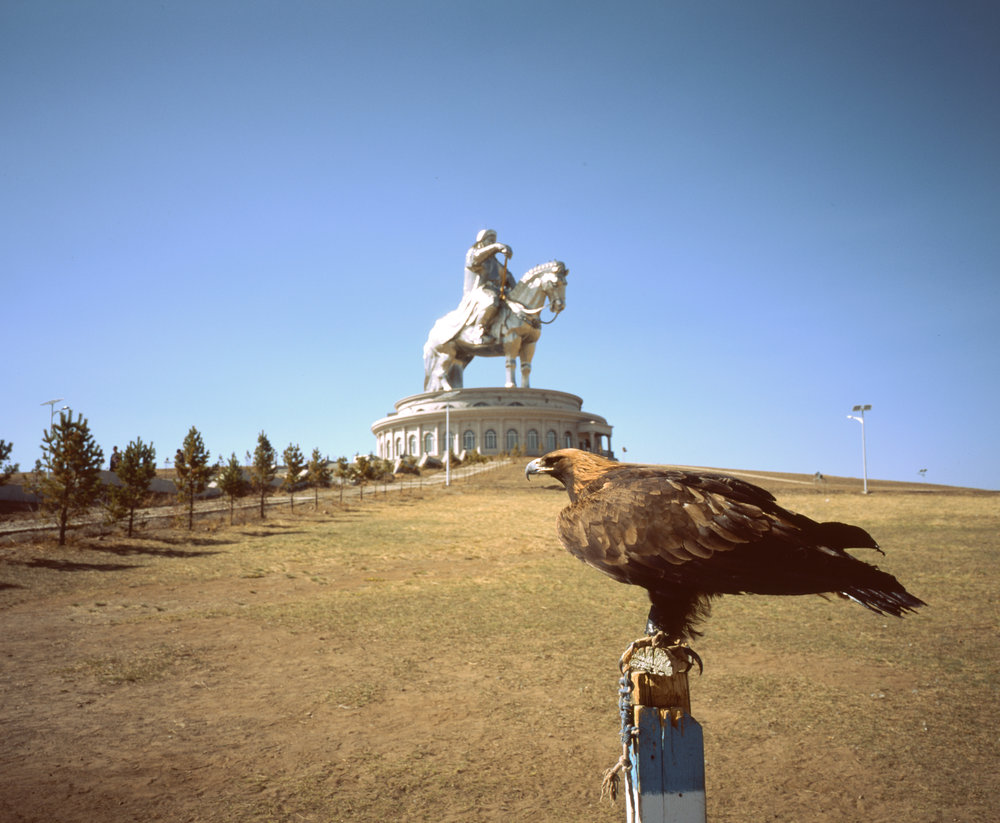 More Eagles and Genghis Kahn Fuji GF670w | Fuji Provia 100f