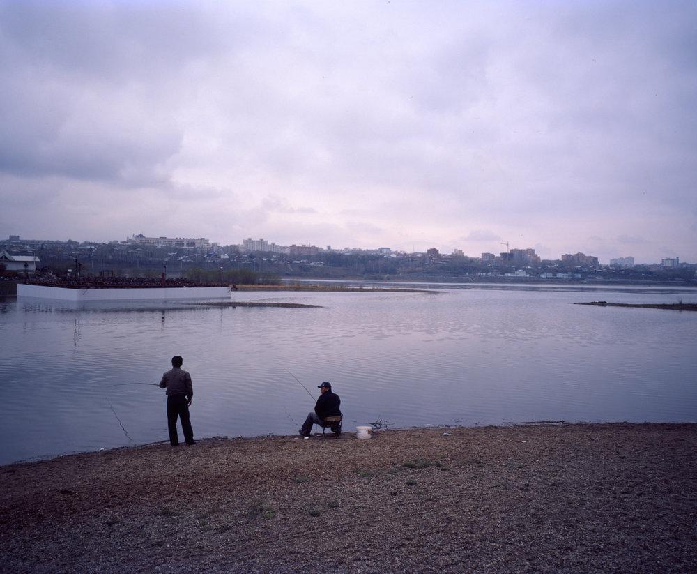 River Walk Fuji GF670w | Kodak E100gx