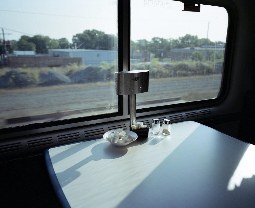 Somewhere on the rails Fuji GF670w | Fuji Provia 100f