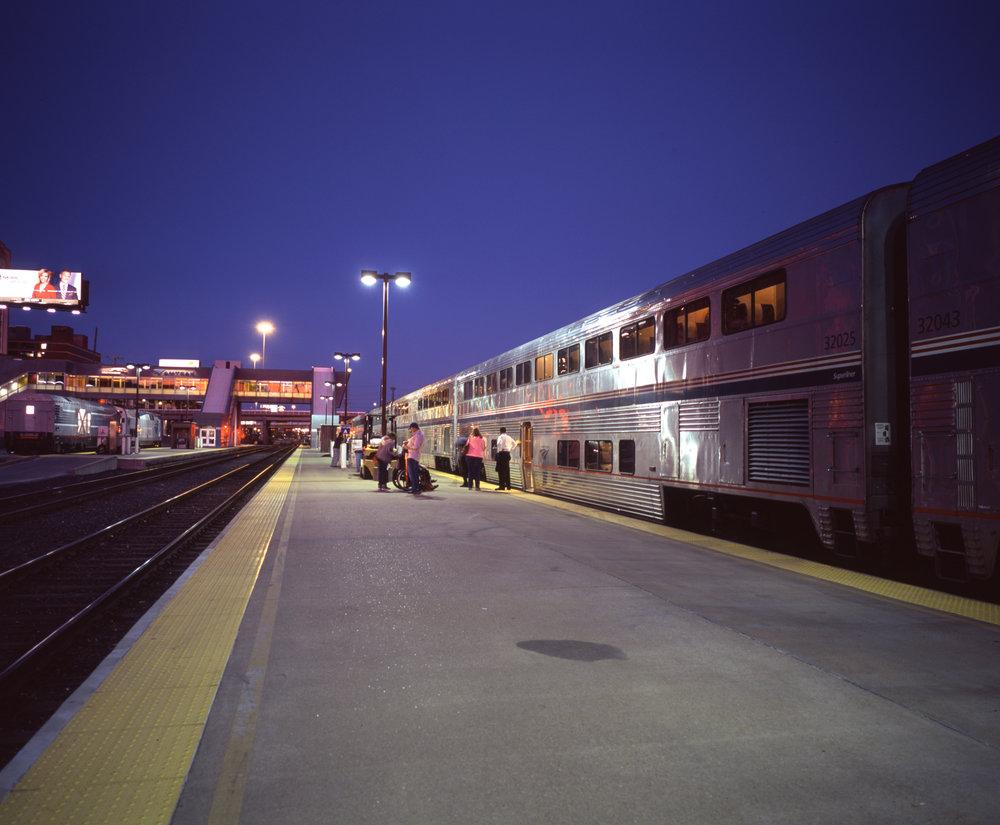 St Louis station Fuji GF670w | Fuji Provia 100f