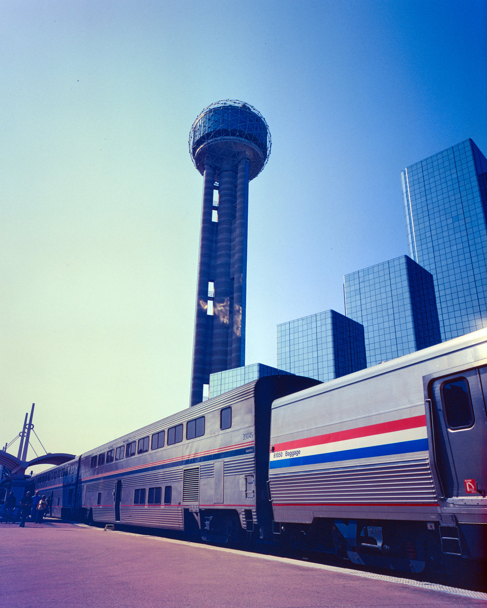 Dallas Station Fuji GF670w | Kodak E200 (really bad color shifts with this roll)