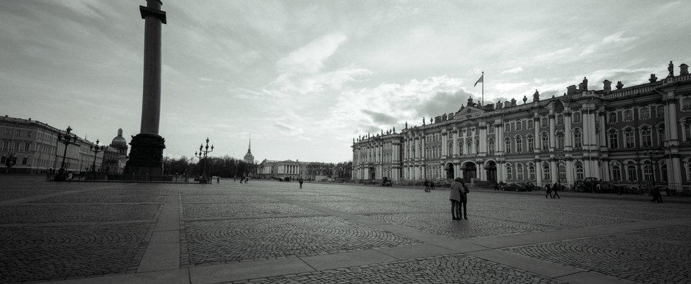 Palace Square P6x14 | Super Angulon 58mm | Ilford HP5