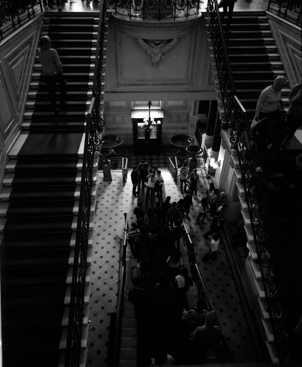 Stairs Fuji GF670w | Ilford HP5