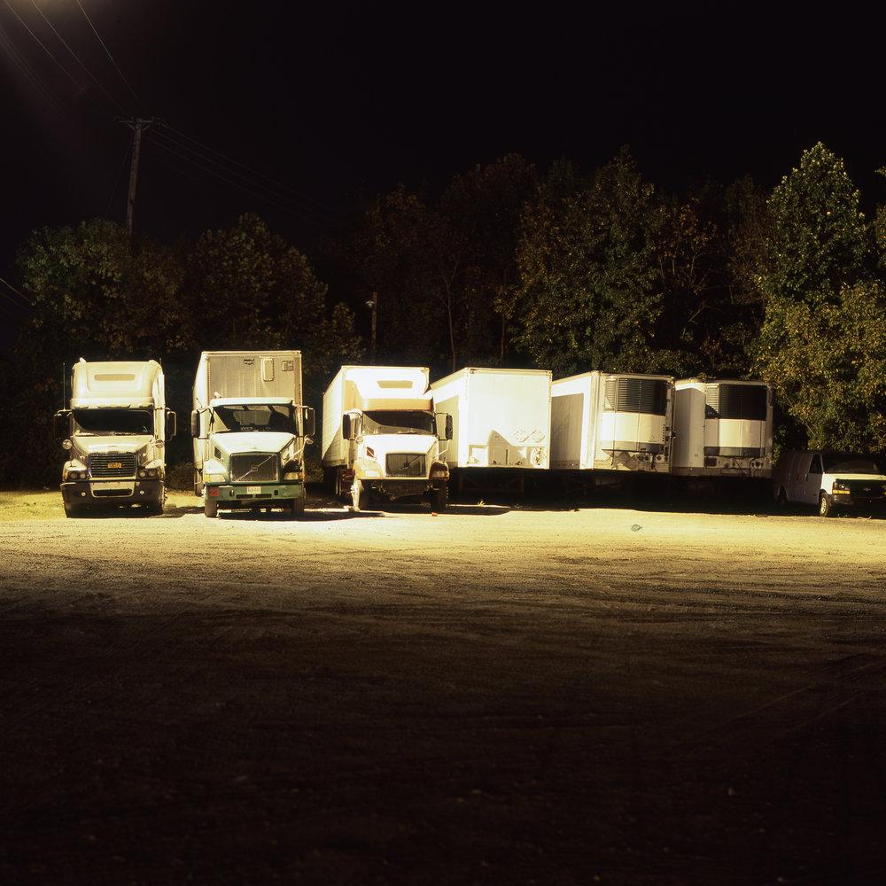Trucks Hasselblad 501cm | 80mm F2.8 T* | Fuji Provia 100f