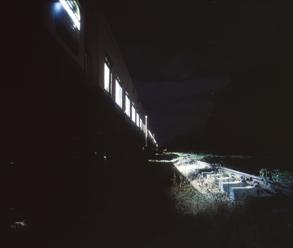 Our overnight train in Myanmar Fuji GF670w | Fuji Provia 100f