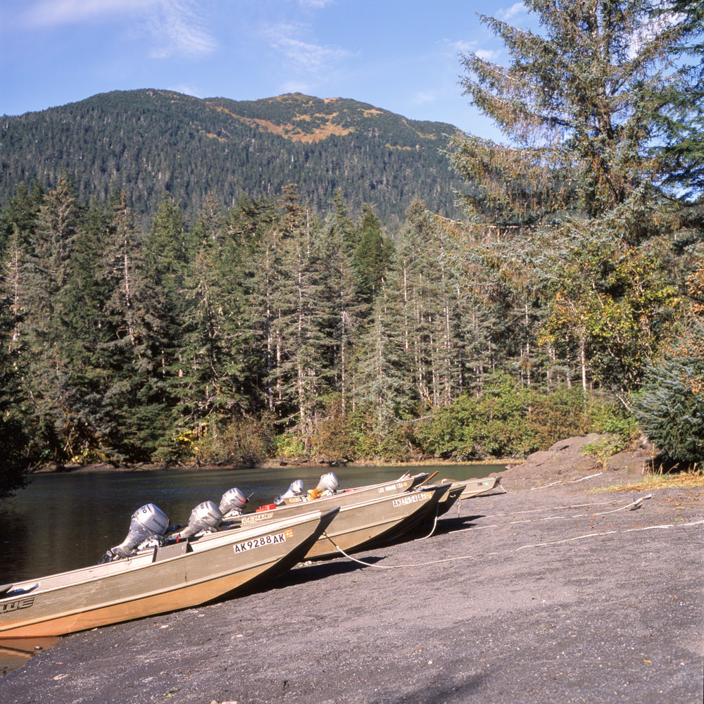 Our Boats and the Eyak River Fuji GF670w | Fuji Provia 100f