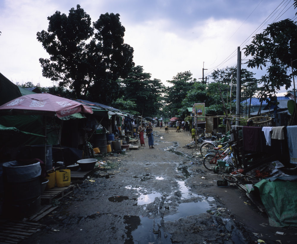 This is the dirtiest and slummiest place I've ever been, and the people were still amazing Fuji GF670w | Fuji Provia 100f