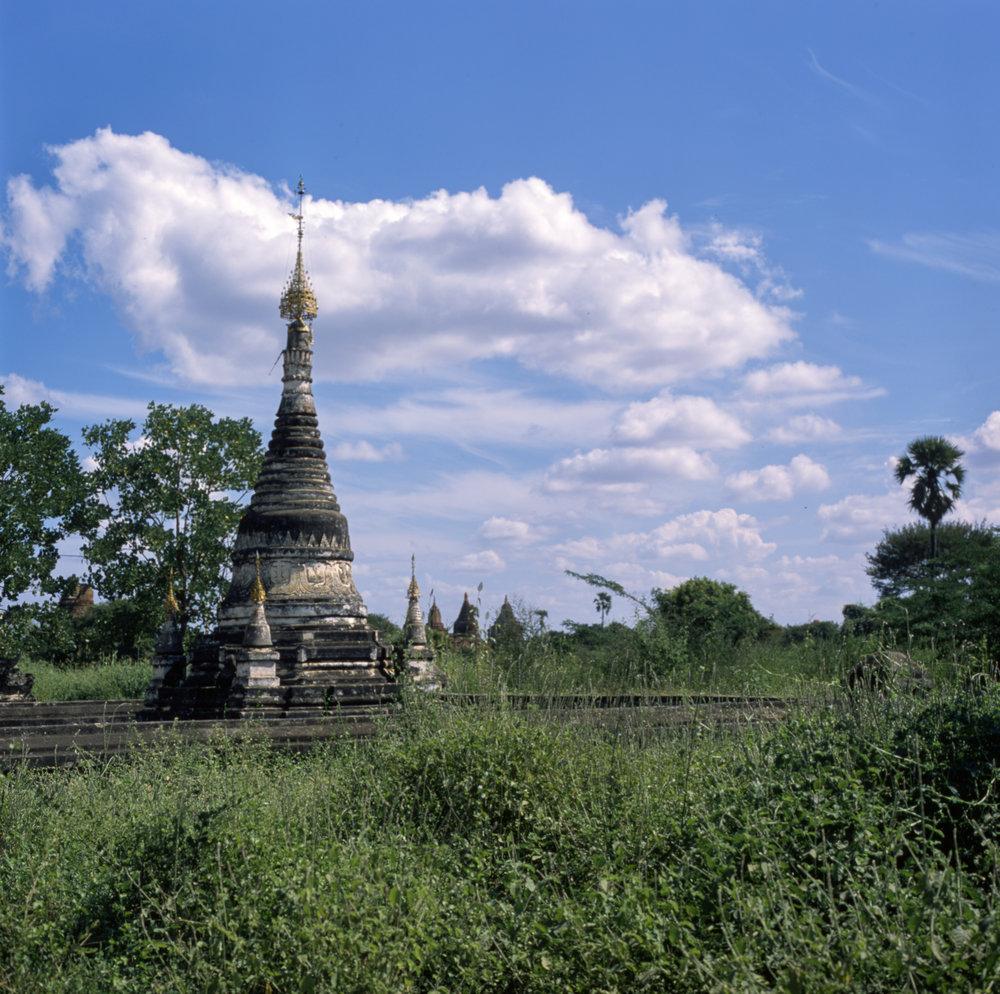 Fuji GF670w + Fuji Provia 100f  |  Bagan, Myanmar