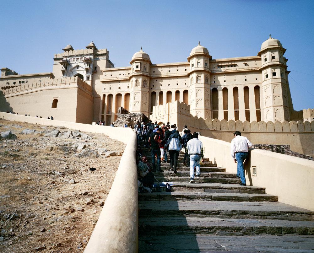 Amer Fort, Jaipur Fuji GF670w |Kodak Portra 400